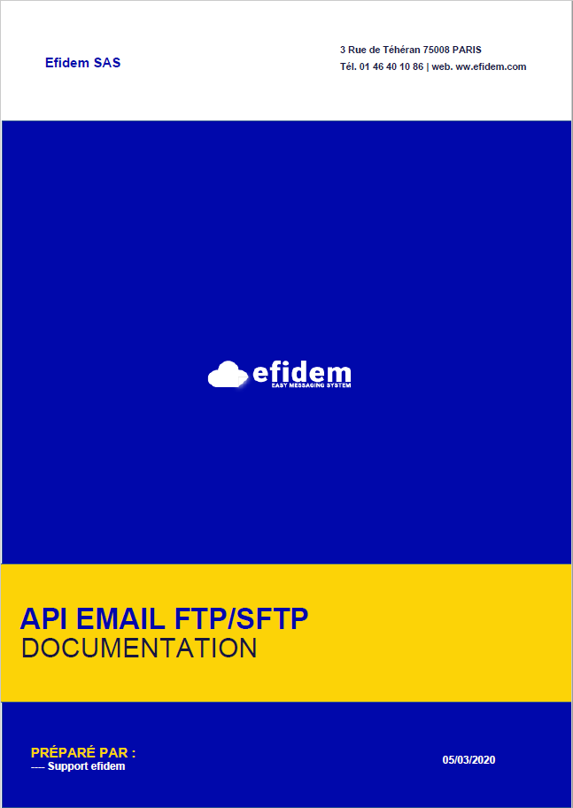 EMAIL FTP SFTP EFIDEM