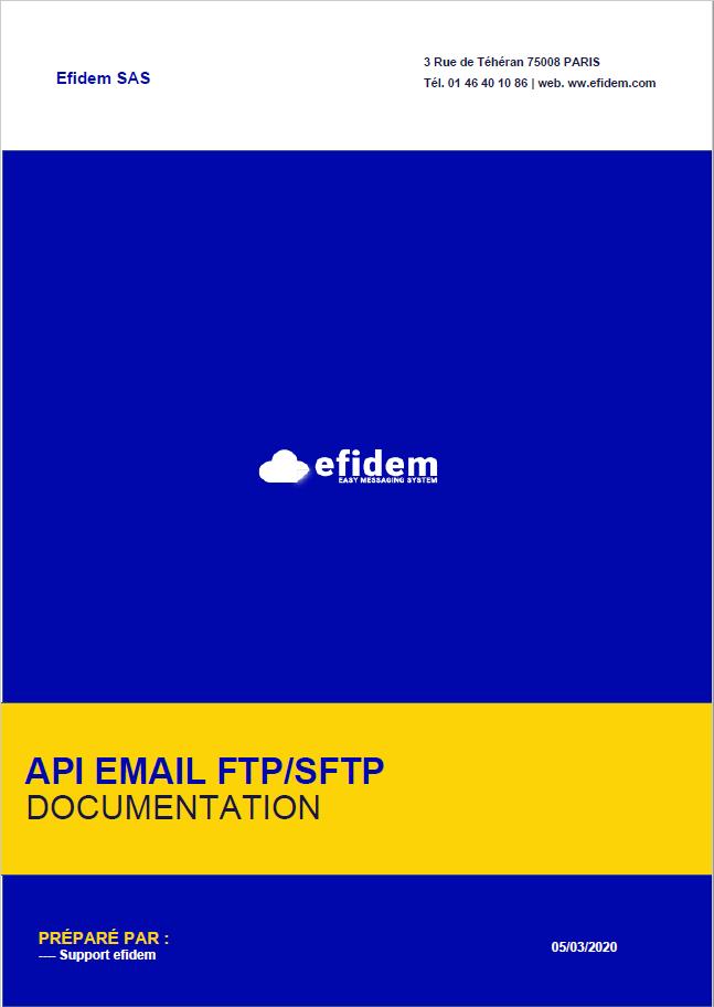 EMAIL FTP SFTP EFIDEM