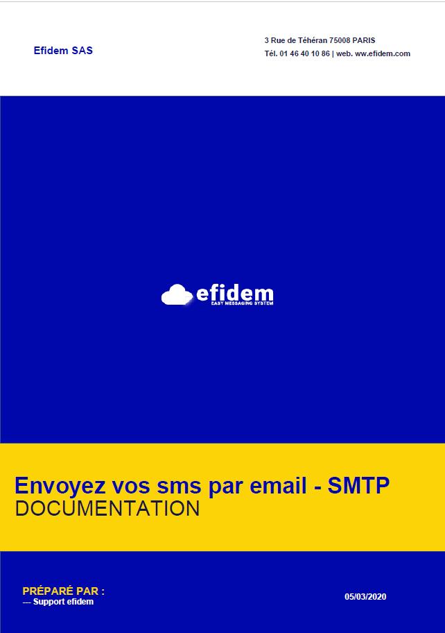 Mail to SMS EFIDEM